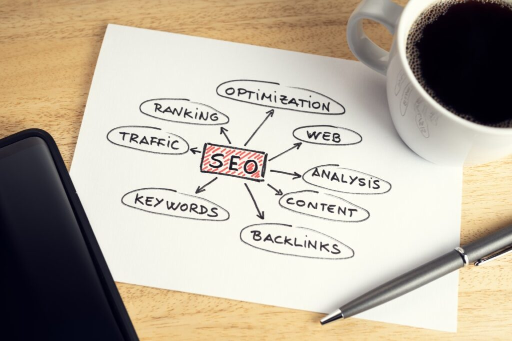 HOW DOES SOMEONE OPTIMIZE FOR SEARCH ENGINES?